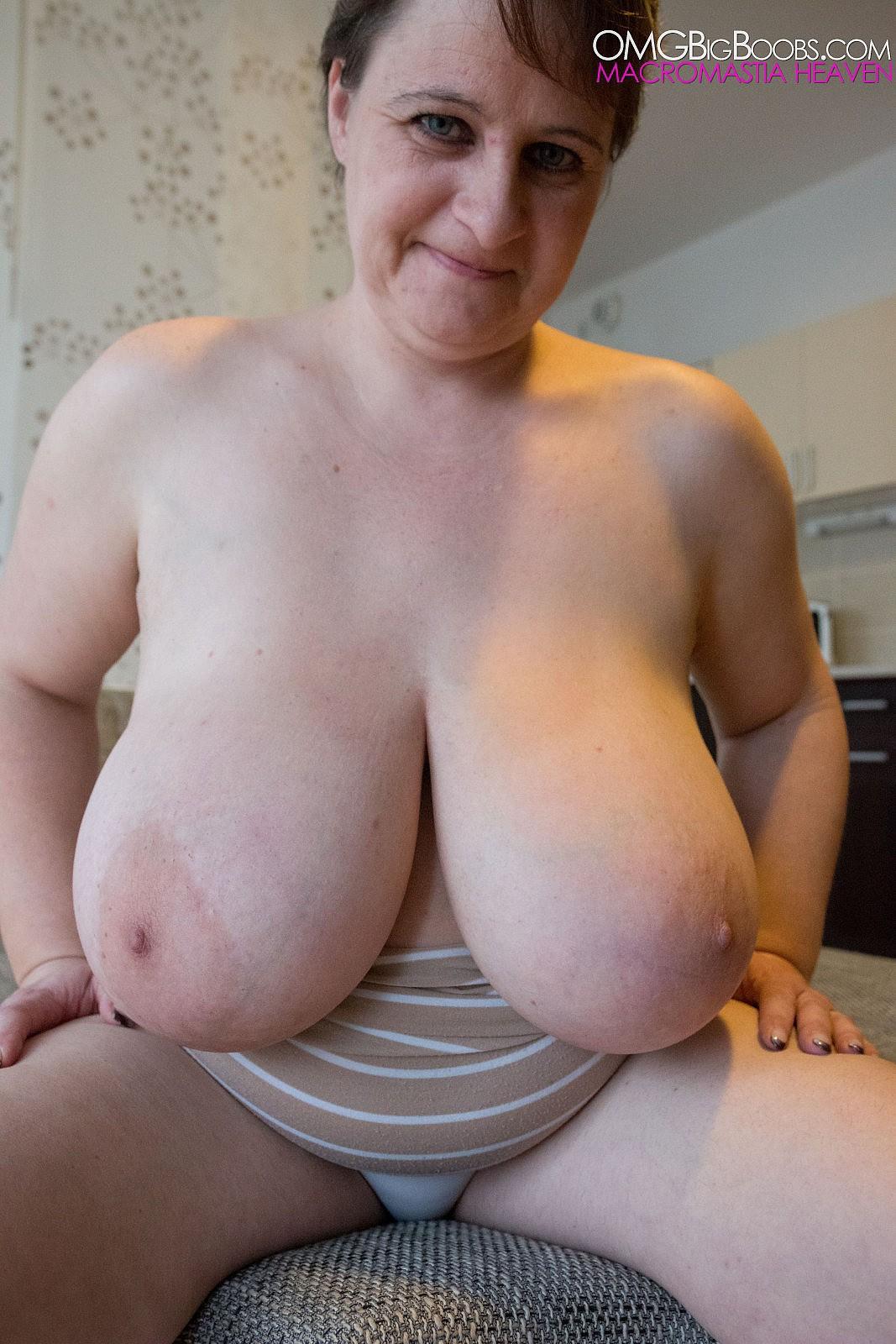 women huge boobs old