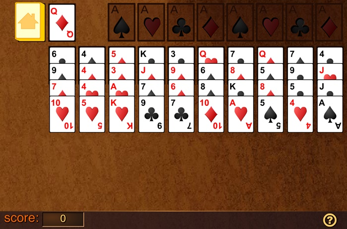 Forty Thieves Solitaire Play Free Online Fun Game