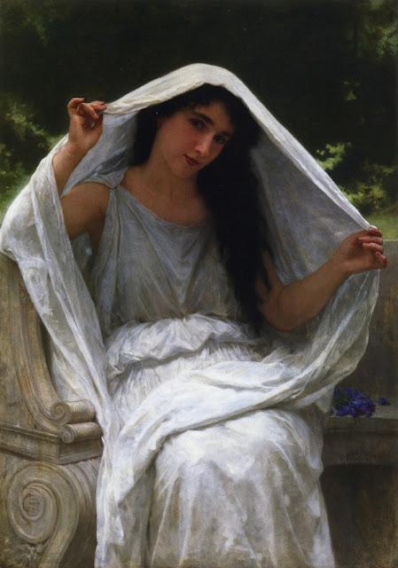 Bouguereau,5 stars,greek girl