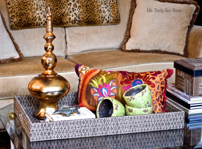 Creating Tray Vignettes - - - Ms. Toody Goo Shoes