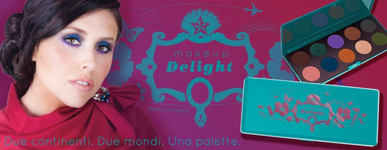 Neve Cosmetics - Lancio Palette Makeup Delight