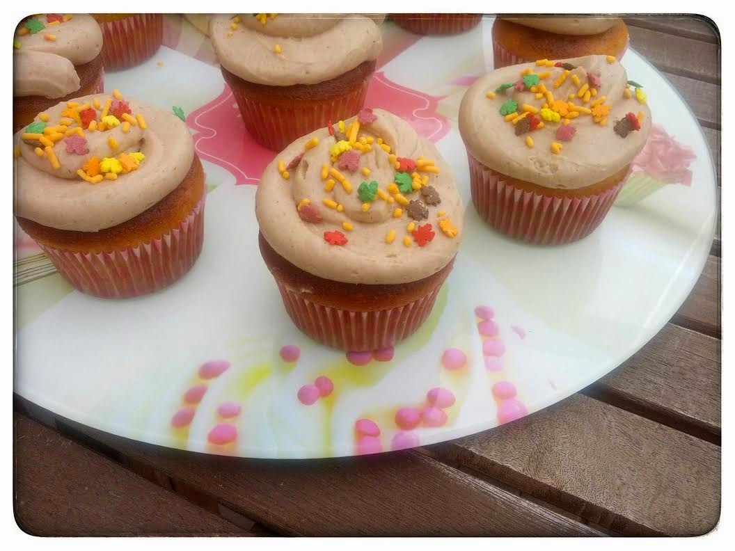 Cupcakes d'Automne à la crème de Marrons