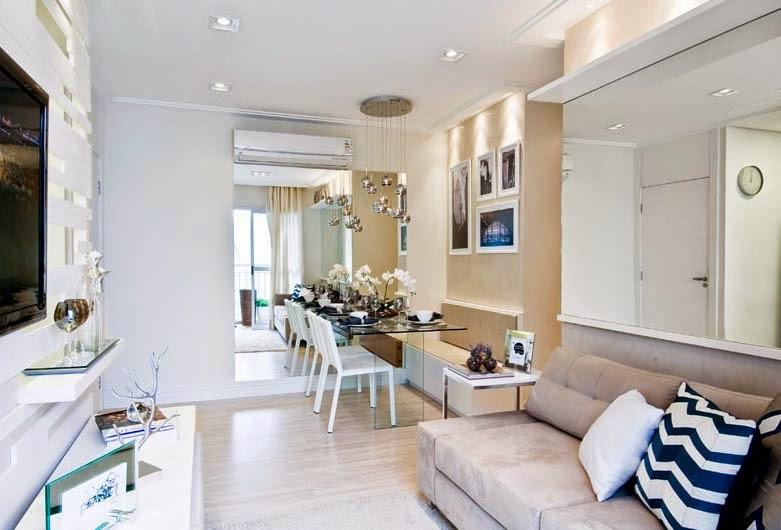 Extremamente Apartamento de 50m2 - Beábá da Decoração YG28