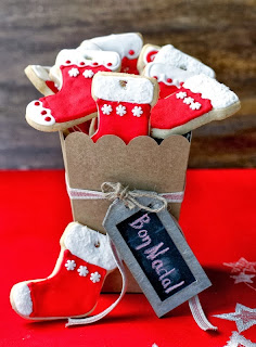 Galetes decorades. Molt Bon Nadal!