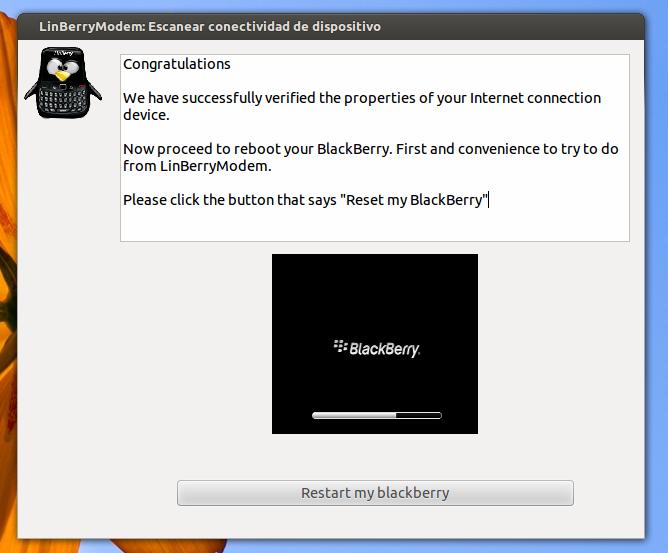 Permintaan untuk merestart BlackBerry