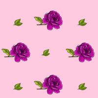 free rose pattern