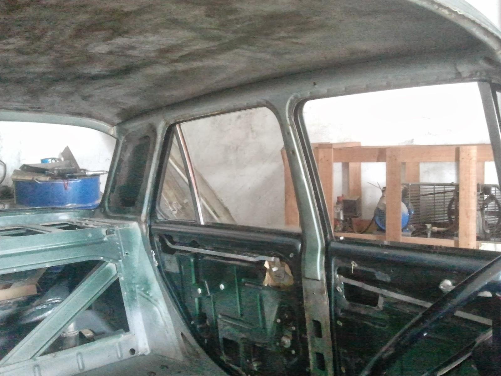Authi morris 1100 tapizado de techo del morris - Tapizado techo coche ...