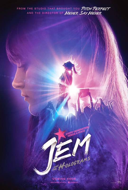 Poster Jem and the Holograms