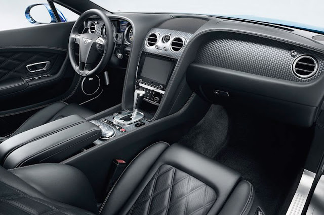 2012 Bentley Continental GT Speed Interior Rear View