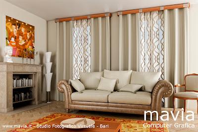Arredamento di interni living room 3d interior design 3d arredo casa complementi arredo 3d - Interior design bari ...