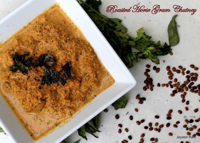 Kollu (Hurali) Thogeyal (Horse Gram Roasted Chutney)