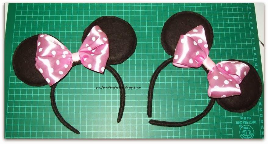 El taller de Anaisa: Diadema o Vincha de Minnie Mouse (Tutorial)