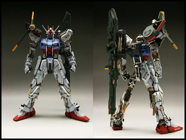 Perfect Grade Launcher Sword Strike Gundam