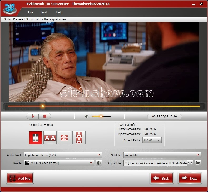4Videosoft 3D Converter 5118 Full Version Patch