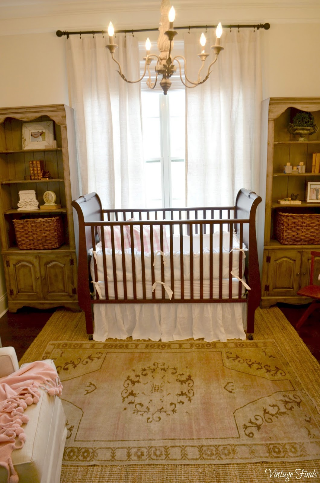 Vintage Finds Baby Girl S Nursery
