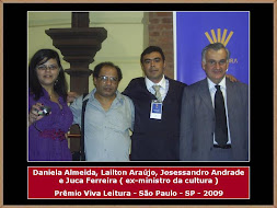 Lailton Araújo, Daniela Almeida, Josessandro Andrade e Juca Ferreira
