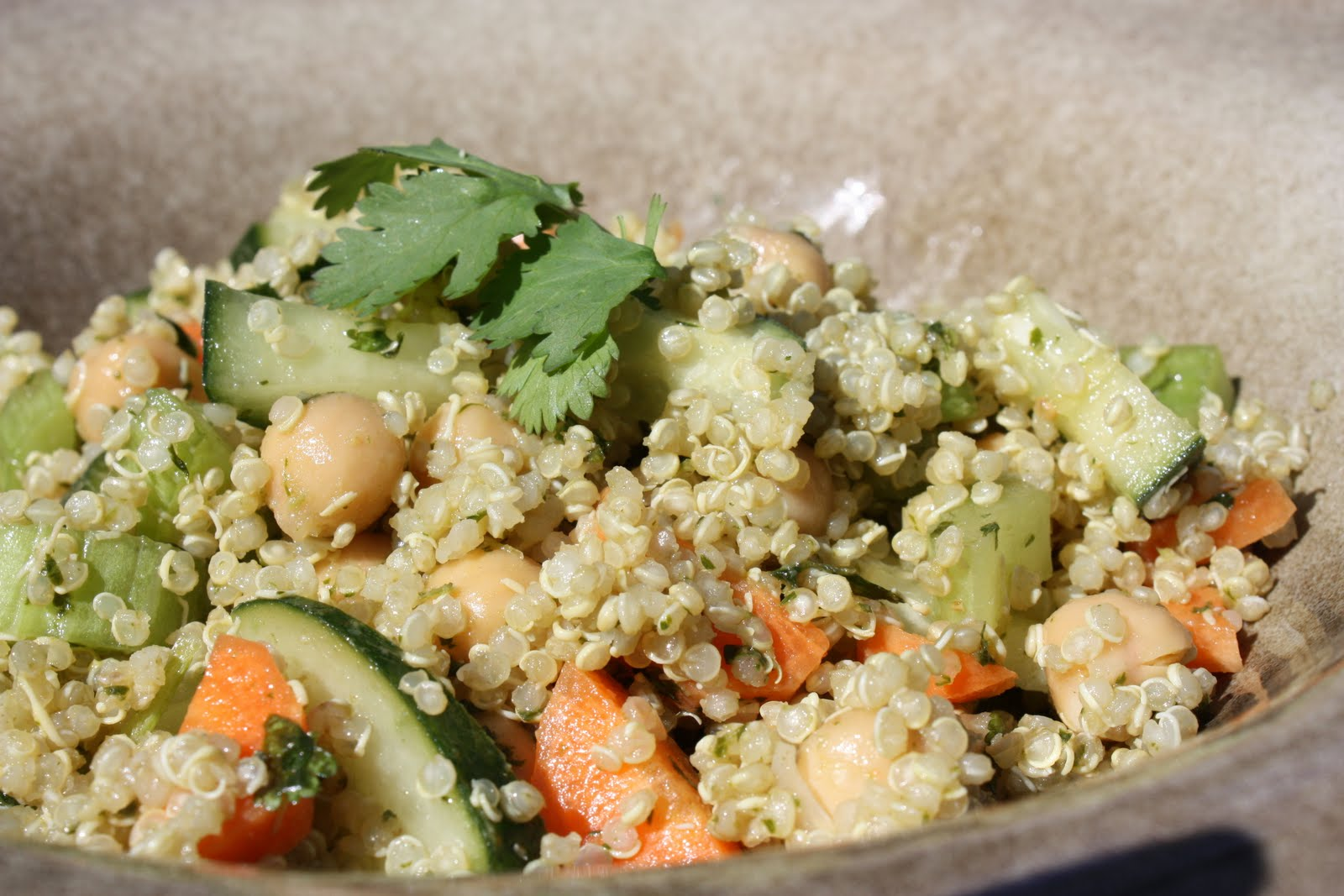 Cultivating Consciousness: Cilantro Lime Quinoa Salad ...