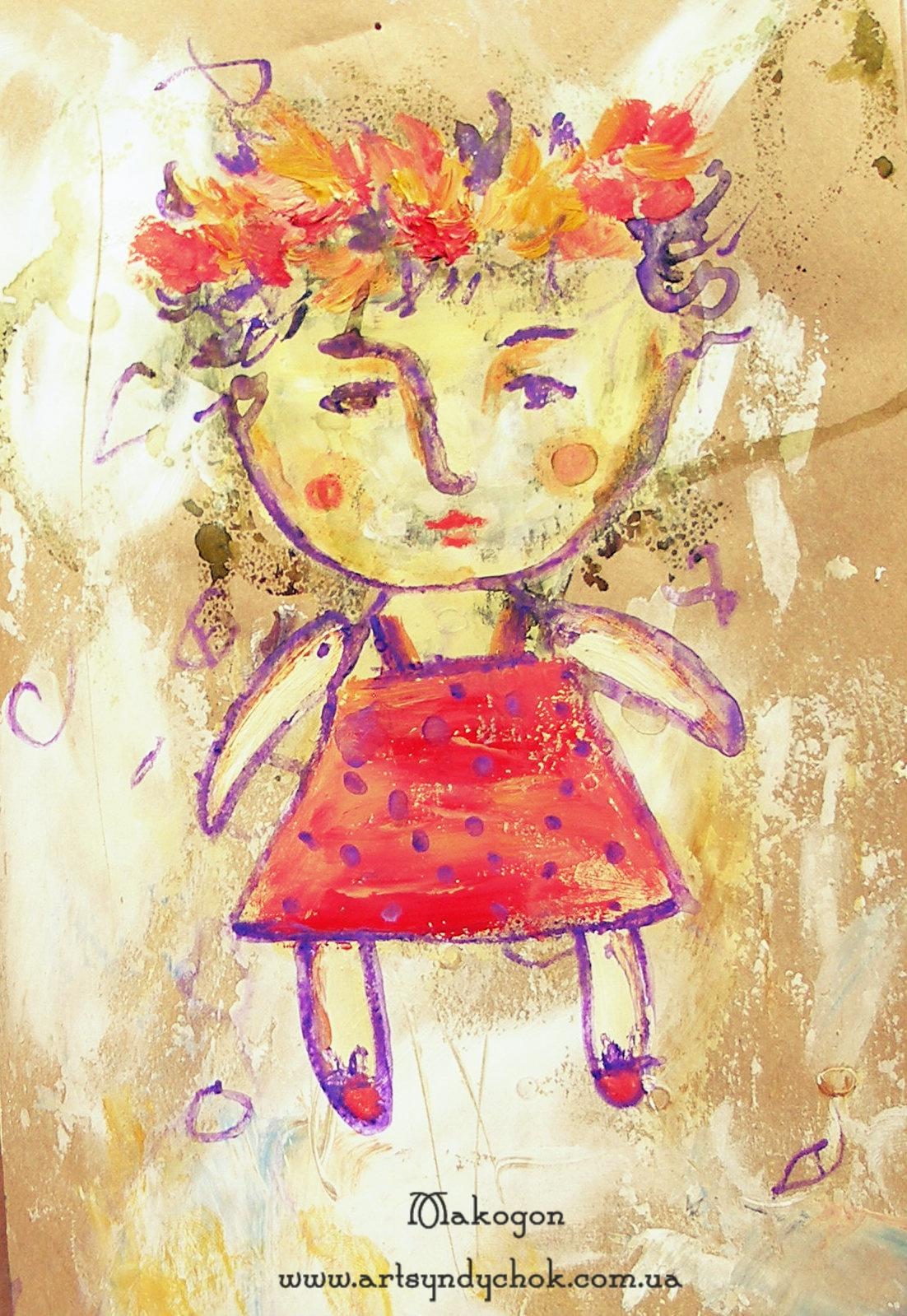 Рисуем картоном