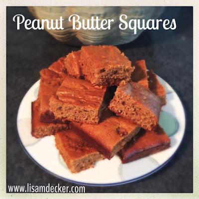 21 Day Fix Treats, 21 Day Fix Desserts, 21 Day Fix Plan, Peanut Butter Squares, Fixate Cookbook, 21 Day Fix Cookbook