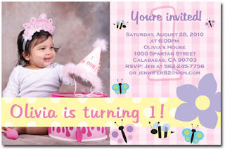 cute birthday invitations