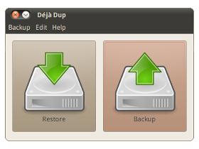 Deja Dup, un programma per fare copie di backup minimalista nell'aspetto presenta funzioni all'avanguardia.