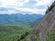 The Great Range of the Adirondacks from Big Slide, NY