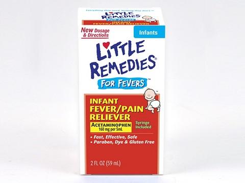 Little Remedies infant acetaminophen