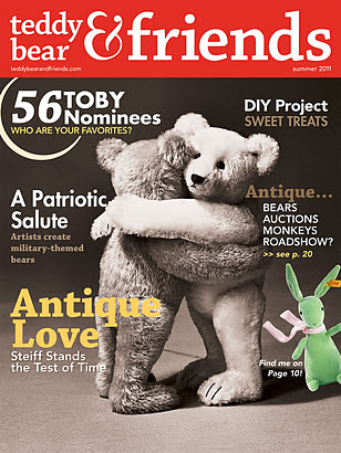 ~Teddy Bear & Friends Summer 2011 Antique's Issue~