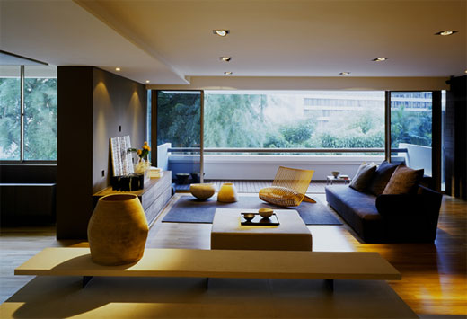 Minimalist Apartment Interior Living Room Design Ideas