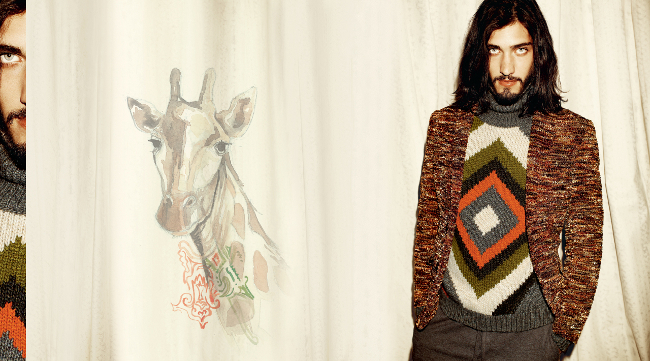 estampado tribal en etro