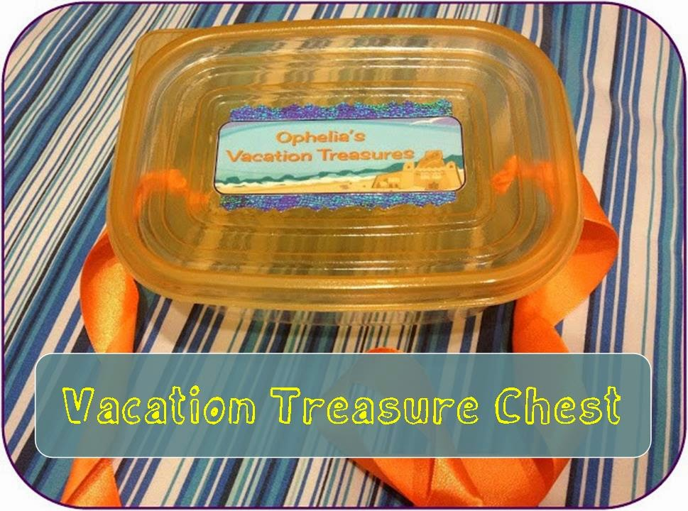 Make a treasure chest to keep all the shells, rocks, cool sticks and other treasures your kid collects.