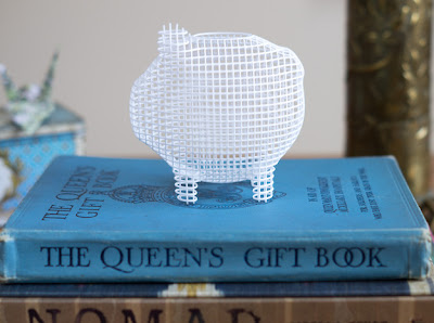 3D-printed piggy bank