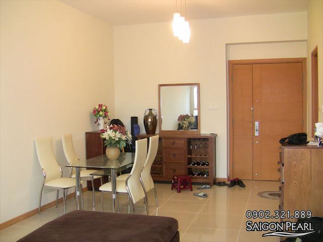 Cho thuê căn hộ 86m2 tòa nhà Ruby 2 | phòng khách