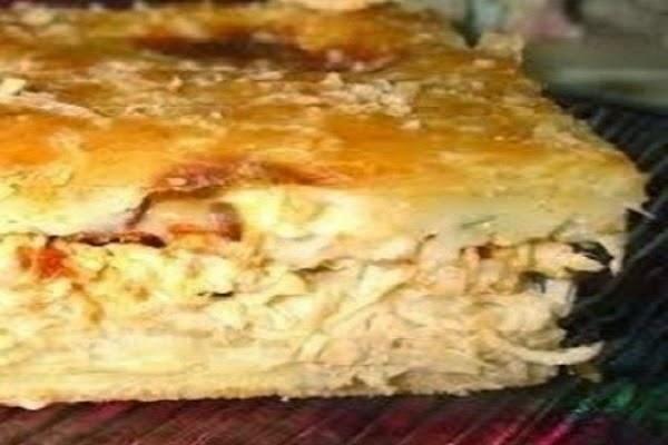 #receita de #torta de #frango com #paodeforma