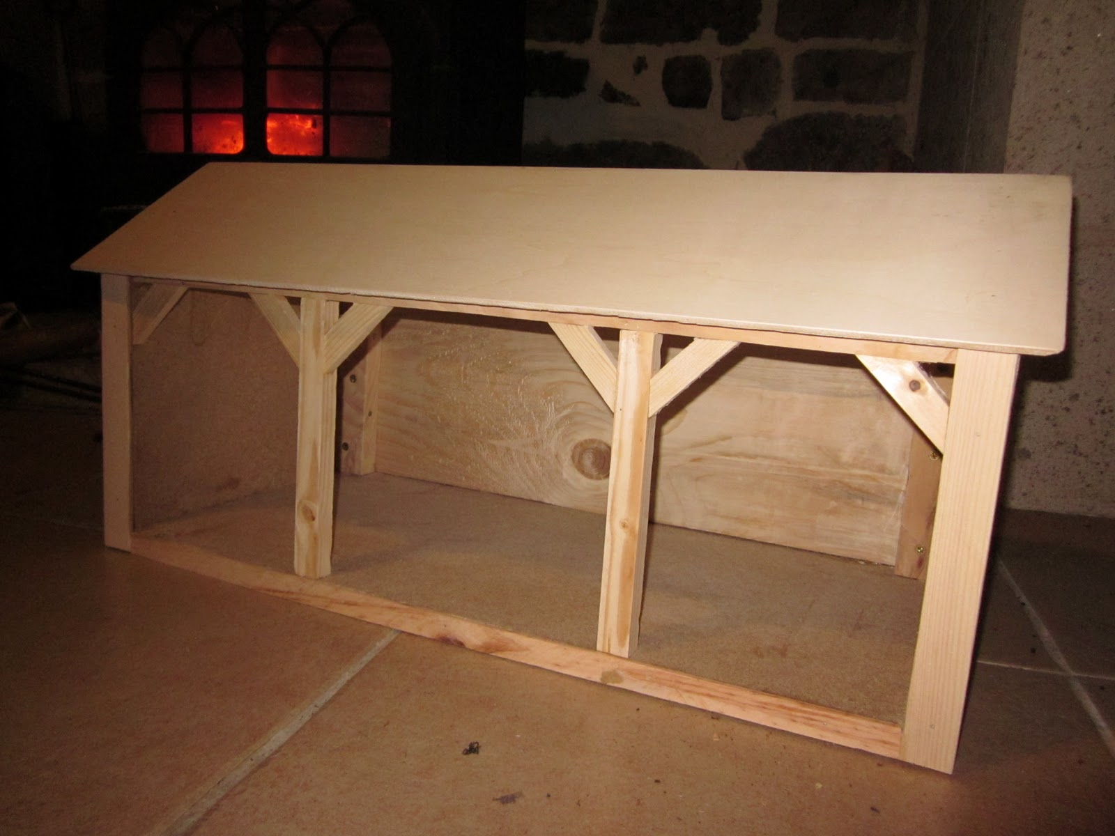 jeux et jouets en bois ferme miniature sur mesure. Black Bedroom Furniture Sets. Home Design Ideas