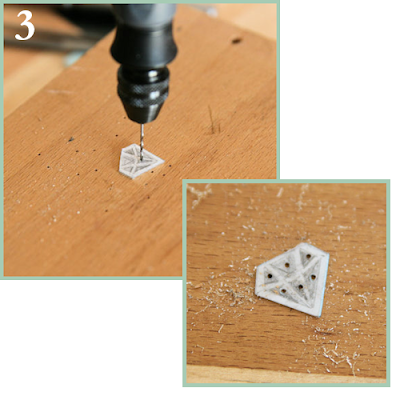 Drilling into silver sheet tutorial