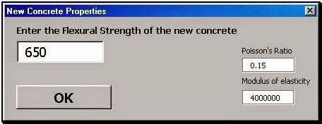Incorporar resistencia a la flexión del concreto.