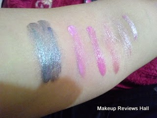 Danni Professional Makeup Lip Gloss Swatches