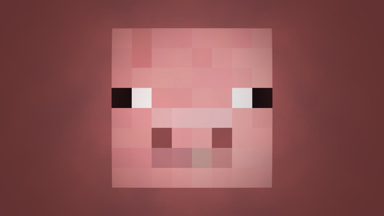 Minecraft Pig Face Harris Sisters GirlTal...