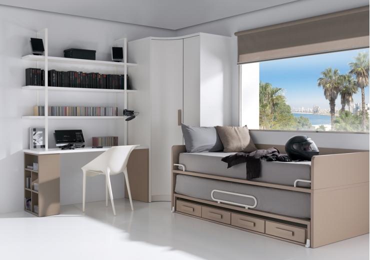 Pin images of composici n 021 de la serie dormitorios - Dormitorios juveniles formas ...