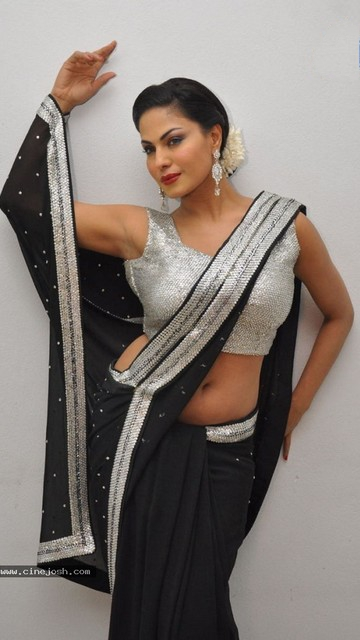 Veena Malik in saree Wallpapers