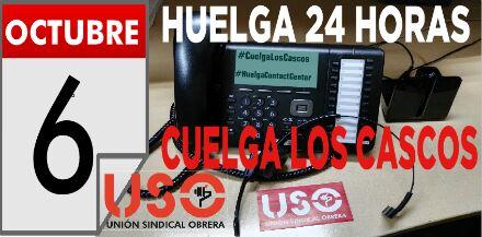 JUEVES 6 DE OCTUBRE - HUELGA CONVENIO 24 HORAS-