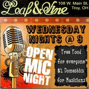 L&amp;V Open Mic