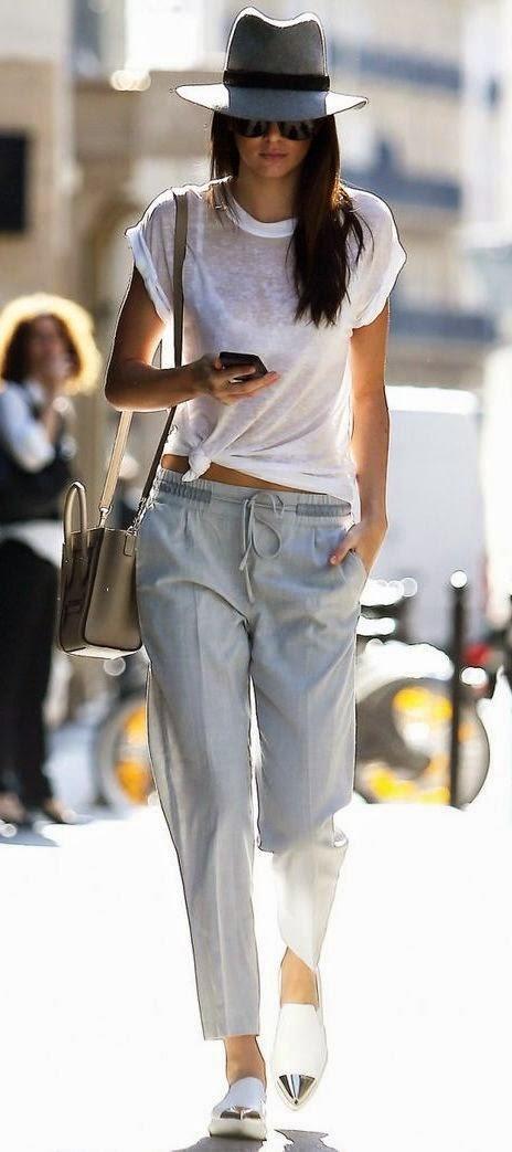 Moda de rua -  Calças pijama