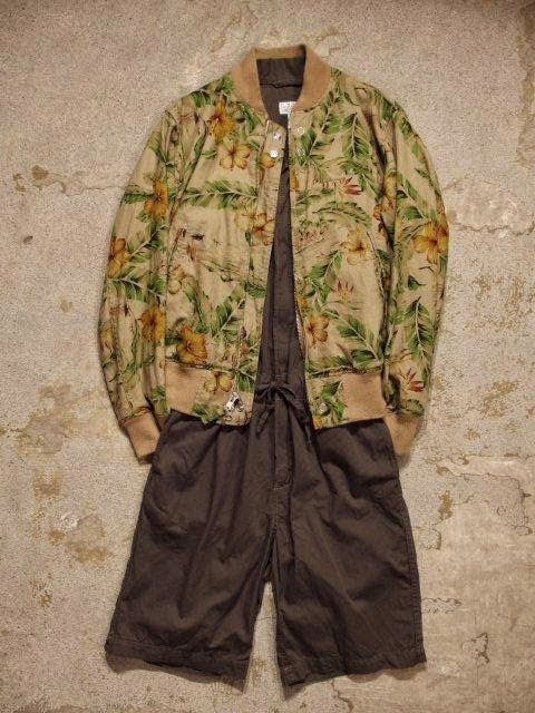 FWK by Engineered Garments Combi Suit in Olive French Twill Spring/Summer 2015 SUNRISE MARKET