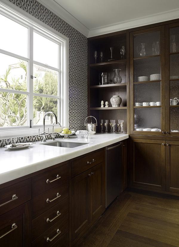 Rustik chateaux que encimera de piedra elegir en la cocina for Marmol color blanco