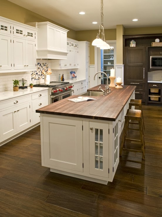 Kitchen countertop materials ideas and options for Kitchen countertop options pictures