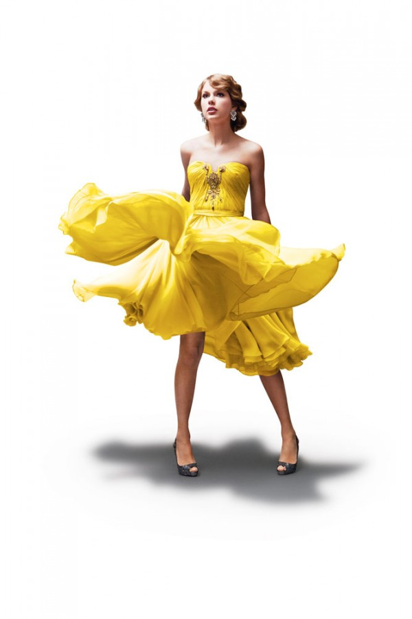 yellow dress song than