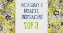 Creative Inspirations Top 3 May 2014, Aug 2014 and Oct 2014