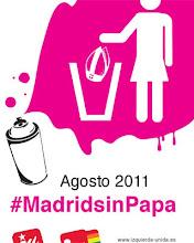 Madrid . el Papa , y los Cristoflautas